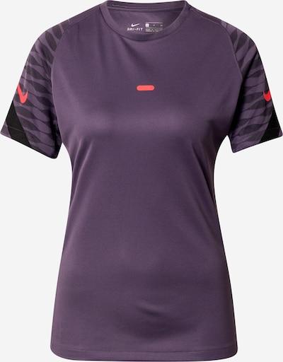 NIKE T-shirt fonctionnel en violet / rouge / noir, Vue avec produit