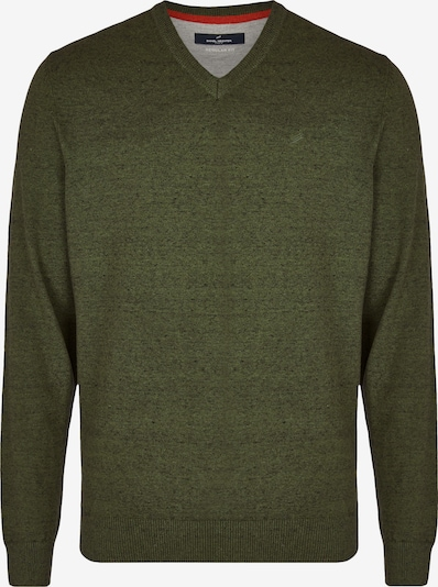 DANIEL HECHTER Pullover in oliv, Produktansicht