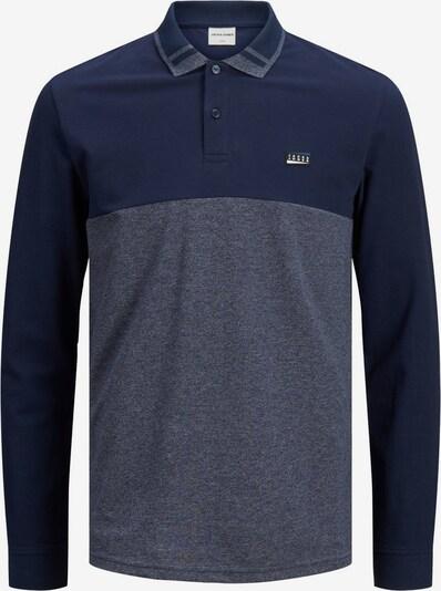 JACK & JONES Shirt in de kleur Navy / Blauw gemêleerd, Productweergave