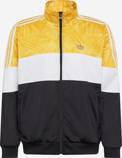 Džemperis iš ADIDAS ORIGINALS , spalva - geltona / juoda / balta, Prekių apžvalga