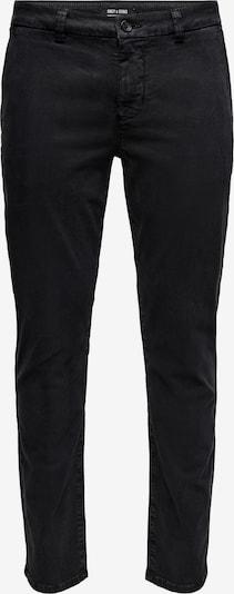 Only & Sons Hose 'Pete' in schwarz, Produktansicht