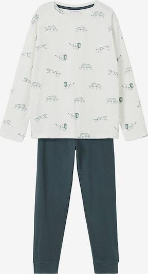 MANGO KIDS Pajamas in Emerald / Off white, Item view