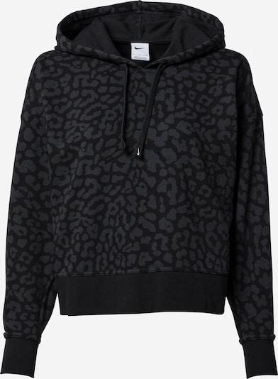 NIKE Sportsweatshirt 'Get Fit' in dunkelgrau / schwarz, Produktansicht