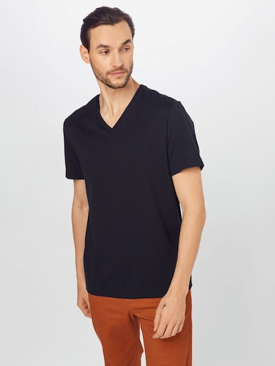 Banana Republic Shirt 'AUTHENTIC' in black: Frontal view