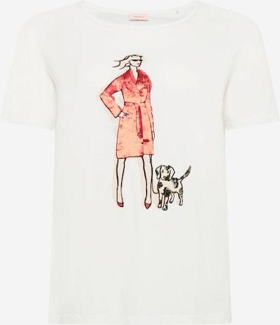 TRIANGLE Koszulka w kolorze czerwony / czarny / białym, Podgląd produktu