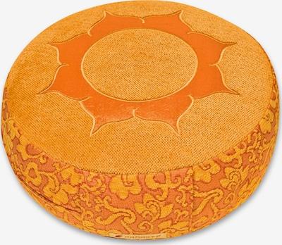 Yogishop Kissen  'Shakti' in orange, Produktansicht