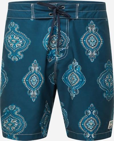 BILLABONG Shorts de bain 'SUNDAYS SANO' en marine / turquoise / blanc, Vue avec produit