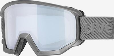 UVEX Sportbrille 'Athletic FM' in anthrazit / transparent, Produktansicht