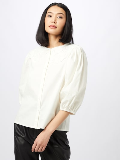 minus Blouse 'Raja' in Wool white, View model