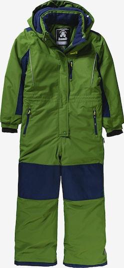 Kamik Schneeanzug 'LAZER20' in navy / grün, Produktansicht