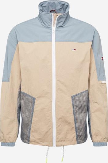 Tommy Jeans Övergångsjacka i beige / ljusblå, Produktvy