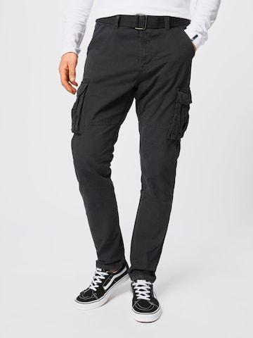 INDICODE Cargo nadrágok 'William' - fekete