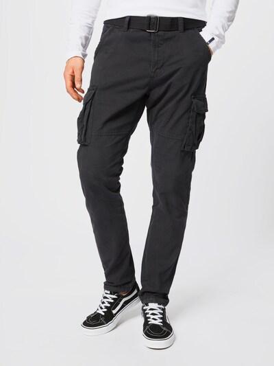 INDICODE JEANS Cargo hlače 'William' u crna, Prikaz modela