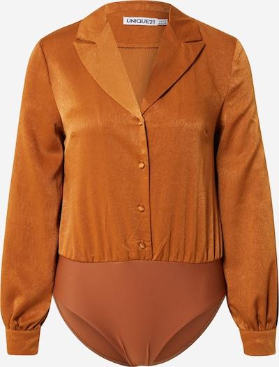 Unique21 Blusenbody in orange, Produktansicht