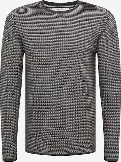 Only & Sons Pullover 'BUUR LIFE ' in grau / weiß, Produktansicht