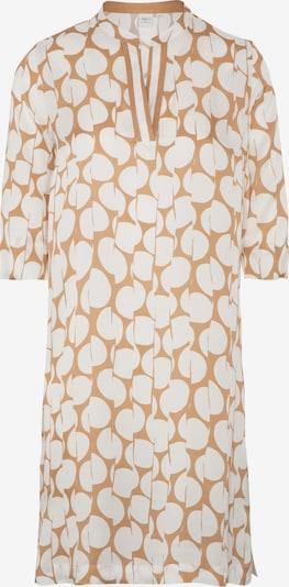 ETERNA Blusenkleid in sand / weiß, Produktansicht