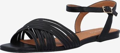 Bianco Sandale 'Delora' in schwarz, Produktansicht