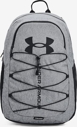 UNDER ARMOUR Rucksack 'Hustle' in graumeliert / schwarz, Produktansicht