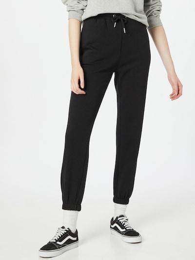 JDY Broek 'Catie' in de kleur Zwart, Modelweergave