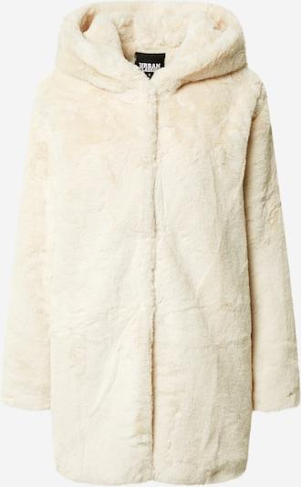 Palton de primăvară-toamnă Urban Classics Curvy pe crem, Vizualizare produs