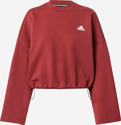 ADIDAS PERFORMANCE Sweatshirt in rot / weiß, Produktansicht