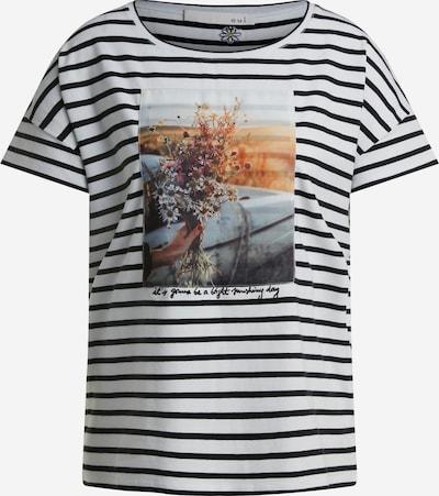 OUI Shirt in de kleur Zwart / Wit, Productweergave