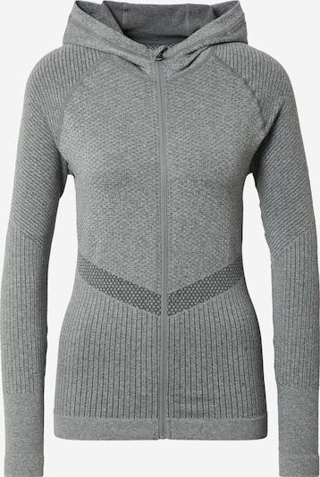 Athlecia Sportsweatjacke 'Alysa' in dunkelgrau / graumeliert, Produktansicht