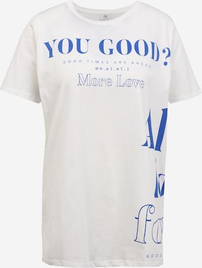Tricou 'YOU GOOD JUMBO' River Island Petite pe albastru / alb, Vizualizare produs