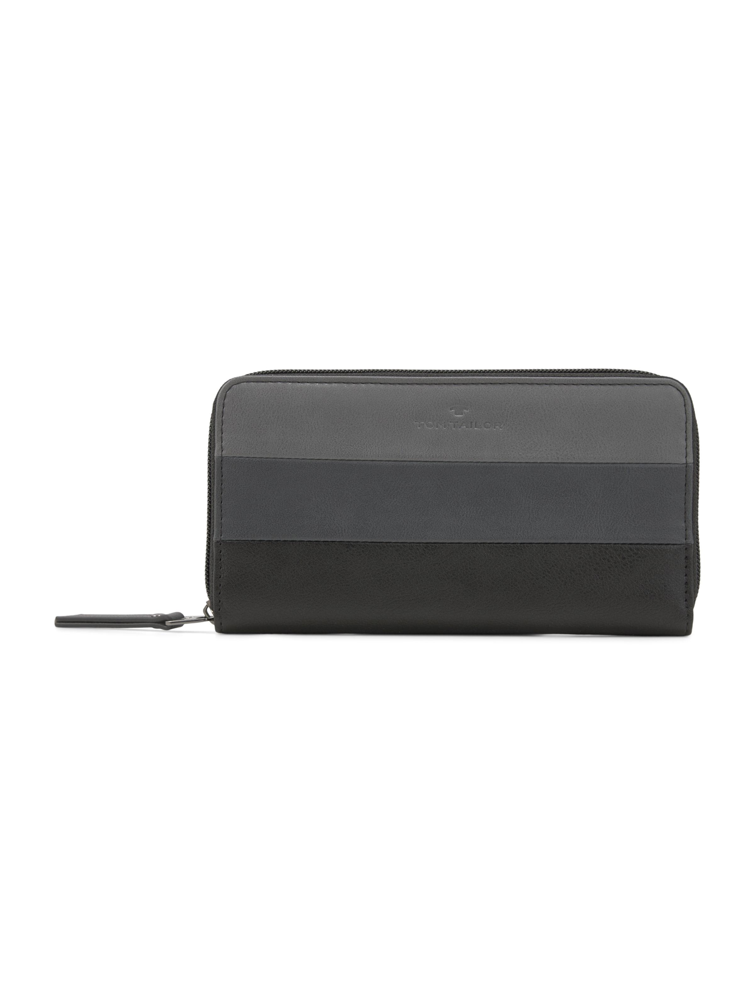 TOM TAILOR Portemonnaie in schwarz