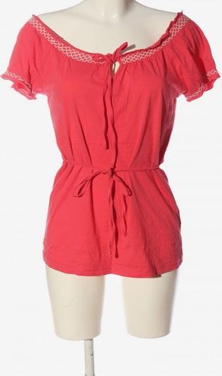 FLASHLIGHTS Kurzarm-Bluse in XXS in rot / weiß, Produktansicht
