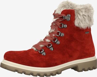 Legero Stiefelette in beige / rot, Produktansicht