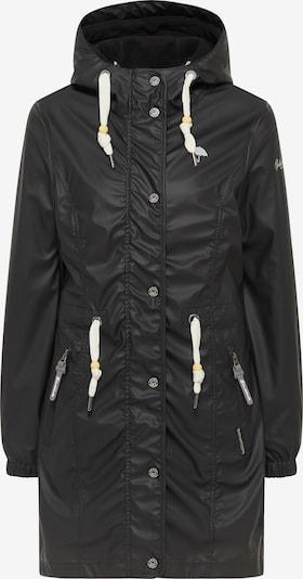 Schmuddelwedda Between-Seasons Coat in Black, Item view