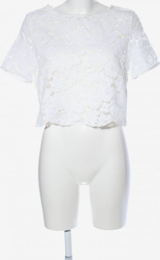 Topshop Blouse & Tunic in L in White: Frontal view