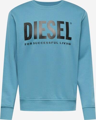 DIESEL Sportisks džemperis 'GIRK', krāsa - tirkīza / melns, Preces skats
