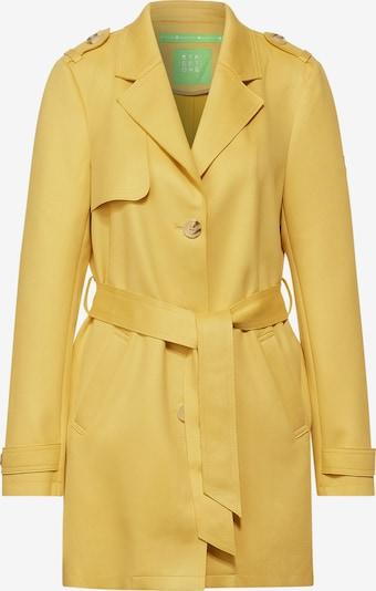 STREET ONE Mantel in gelb, Produktansicht