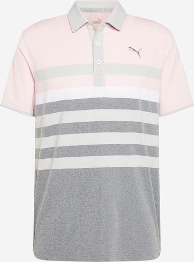 Tricou funcțional 'MATTR One Way' PUMA pe gri deschis / gri amestecat / roz pastel, Vizualizare produs