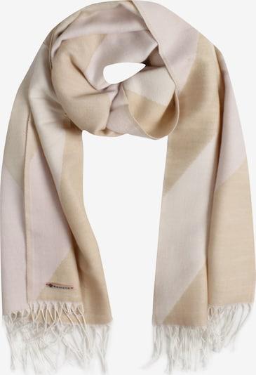 SAMAYA Modeschal 'FEJA' in beige / braun, Produktansicht