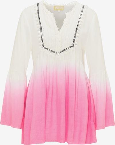 MYMO Blouse in de kleur Pink / Wit, Productweergave