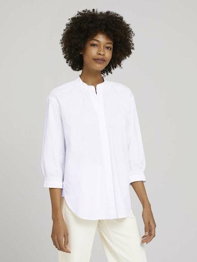MINE TO FIVE Bluse in weiß, Modelansicht