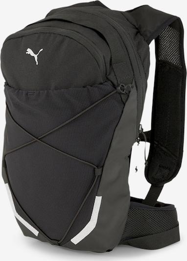 PUMA Sac à dos de sport en gris / noir / blanc, Vue avec produit