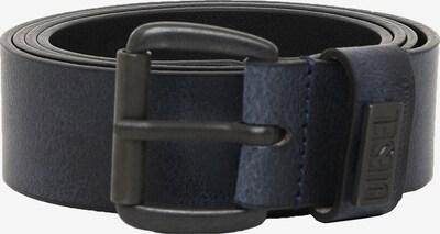 DIESEL Ledergürtel in dunkelblau, Produktansicht
