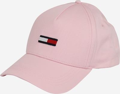 Cappello da baseball Tommy Jeans di colore navy / rosa pastello / rosso / bianco, Visualizzazione prodotti