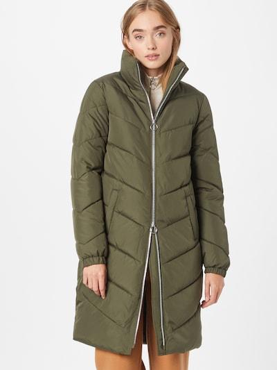 Žieminis paltas 'NEW FINNO' iš JDY, spalva – tamsiai žalia, Modelio vaizdas