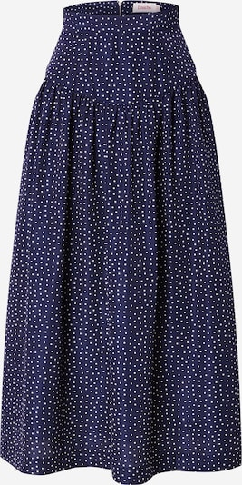 Louche Skirt 'YASSIN' in Navy / White, Item view