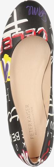 Schoenen voor Dames PETER KAISER Ballerina in Gemengde kleuren / Zwart