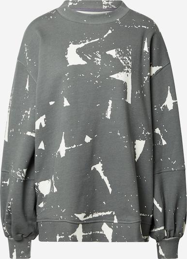 Damson Madder Sweatshirt in grau / weiß, Produktansicht