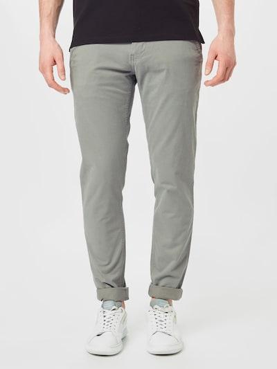 Tommy Jeans Chino 'SCANTON' in de kleur Grijs, Modelweergave
