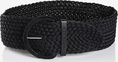TOM TAILOR Pas 'ELLA' | črna barva, Prikaz izdelka