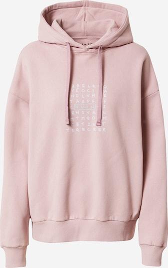 NU-IN Sweatshirt in altrosa / schwarz / weiß, Produktansicht