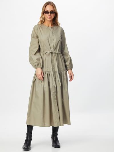 IVY & OAK Košeľové šaty - pastelovo zelená: Pohľad spredu